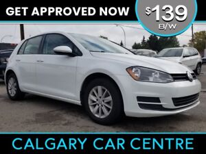 2016 VW Golf $139B/W TEXT US FOR EASY FINANCING! 587-582-2859