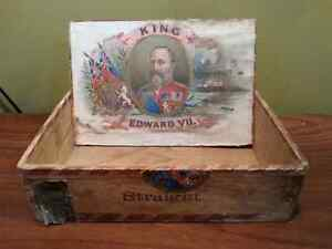 Antique King Edward VII Cigar Box Edmonton Edmonton Area image 1