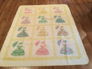 Quilt Colonial Lady-Handquilted