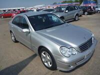 2005 05 MERCEDES-BENZ C CLASS 2.1 C220 CDI AVANTGARDE SE 4D AUTO 148 BHP DIESEL