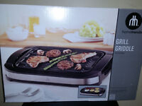 NEW - Reversible Grill Griddle Indoor BBQ like George Foreman