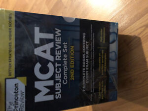 The Princeton MCAT Subject Review Complete Set 2nd Edition