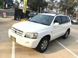 2006 Toyota Kluger  Automatic SUV 7 Seat 4x4 Best Car Mount Druitt Blacktown Area Preview