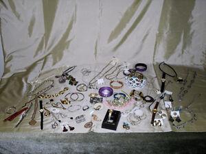 60 plus pieces of costume Jewellery
