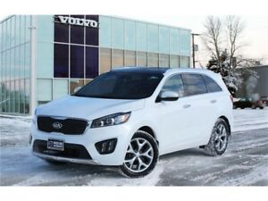 2016 Kia Sorento 2.0L SX SX | TURBO | AWD | HEATED/COOLED LEA...