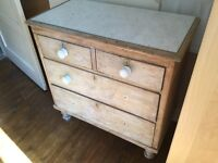 Marble Top Antique Drawers