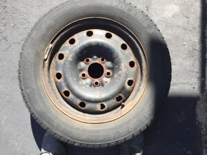 16 inch used Winter Tires, AND rims (Toyota Camry), Polaris Baum