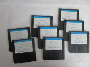 Apple Mac 6400 System 7.5 Recovery Disks
