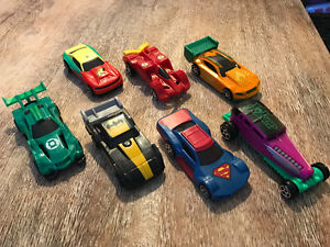 Cars and action figures