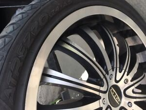 Mercedes After market rims and tires set of 4 Size225/40ZR18