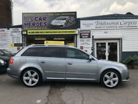 2007 AUDI A4 AVANT 2.0 TDI S LINE SPECIAL EDITION ESTATE (AA) WARRANTED INCLUDED