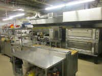 Commercial kitchen available for catering