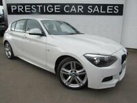 2015 BMW 1 Series 2.0 125d M Sport Sports Hatch (s/s) 3dr Diesel white Manual