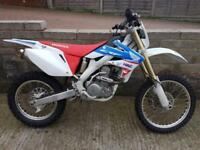 HONDA CRF250 X-D Enduro Trail 2016 HRC Colours Electric Start