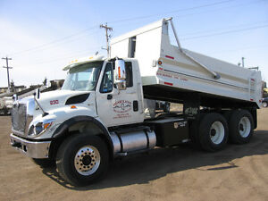 Water Trucks, Gravel Trucks & Wellsite Trailer for Dry Rent
