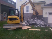 Mini Excavator and Backhoe Services Offered and More