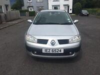 2005 Renault Megane 1.6 petrol