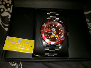 Invicta Disney Limited Edition Men's Red Automatic Watch 24759