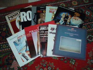 Vinyl Records Albums 1970's and 1980's Collection