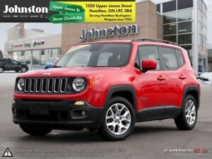 2015 Jeep Renegade North  HTD SEATS/WHEEL-REMOTE START-REAR CAME