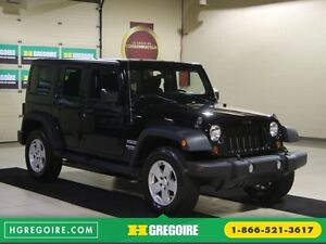 2012 Jeep Wrangler Sport 4WD 2TOITS MAGS