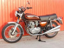 HONDA CB550 FOUR 1977 550cc MOT'd OCTOBER 2018