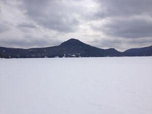 Chalet à louer pour l'hiver (novembre-avril) ski-bord de l'eau