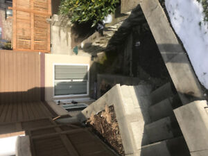 3 Bedroom 1 bathroom ground level townhouse for rent Port Moody