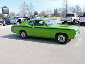 1972 PLYMOUTH DUSTER 340 , 4 SPEED