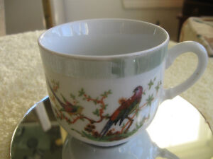 "ADORABLE LITTLE ""MINI"" VINTAGE GERMAN HAND-PAINTED CHINA CUP"
