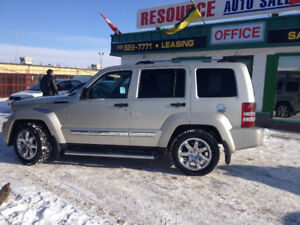 2009 Jeep Liberty Limited SUV, Crossover AWD