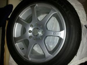 Tires and rims Honda