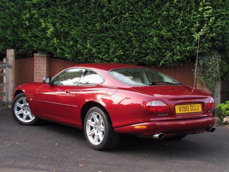 1999 jaguar xk xk8 coupe automatic red xkr in kidderminster worcestershire gumtree. Black Bedroom Furniture Sets. Home Design Ideas
