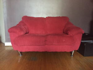 A pair of loveseats for sale