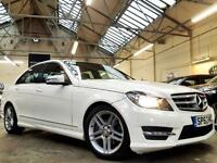 2012 Mercedes-Benz C Class 2.1 C220 CDI BlueEFFICIENCY AMG Sport Saloon 4dr