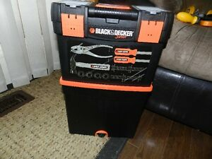 Black and Decker Junior Toolbox and Tools