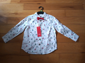 Christmas Shirt kids age 4-5 new with tags