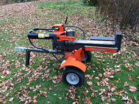 Wood Splitter w/ Operator for Hire