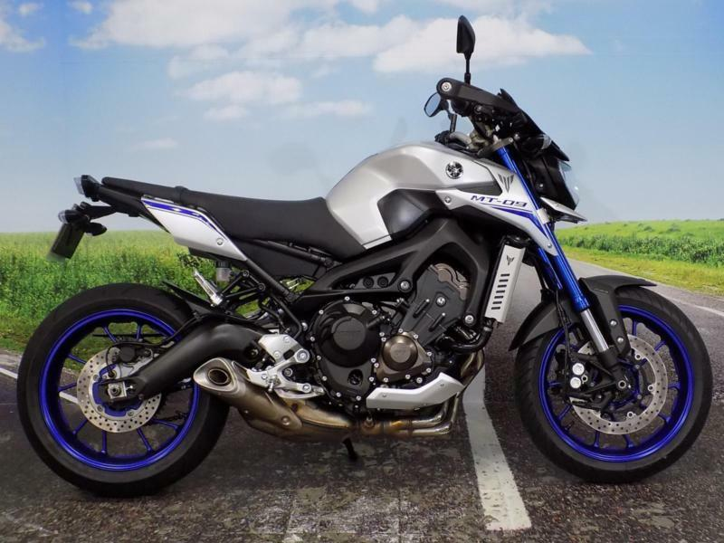 yamaha mt 09 abs street rally 2016 in newport gumtree. Black Bedroom Furniture Sets. Home Design Ideas
