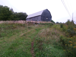Barn to rent or lease . near inverness , ns