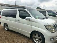 2006 Nissan Elgrand 4x4 Mistral Camper 4 berth Highway Star 2.5 4x4 5 door Mo...