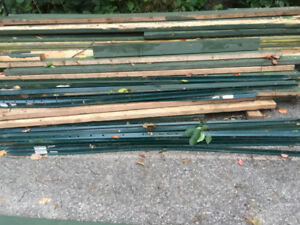 T-POSTS AND 2X4