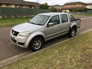 2012 Great Wall V200 Ute 4X4 Turbo Diesel AWD Dual Cab Mount Druitt Blacktown Area Preview