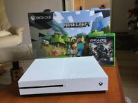 Xbox one s 500gb (like new)