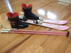 Girl's Downhill Ski Package