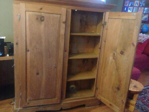 Looking for Harvest Table for large Pine Jam Cupboard