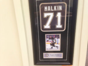 Evgeni Malkin Pittsburgh Penguins Hockey NHL cadre frame