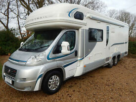 Auto Trail Frontier Chieftain G 2012 Fiat 3.0 Twin Axle Large Garage 4 Seatbelts