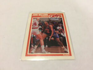 1989-90 FLEER BASKETBALL #31 JOHN WILLIAMS CLEVELAND CAVALIERS