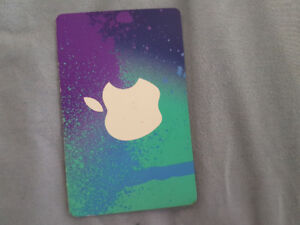 Brand new itunes gift card :)